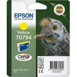 EPSON C13T07944010 CARTUCCIA CLARIA PHOTO T0794 GUFO 111 ML GIALLO