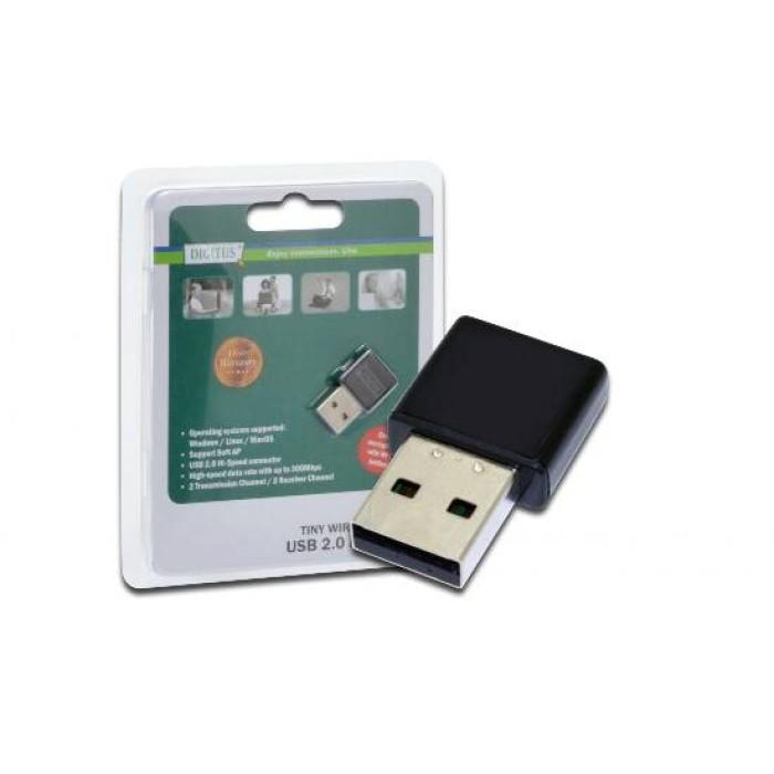 MICRO ADATTATORE USB 2.0 WIRELESS 300MBPS