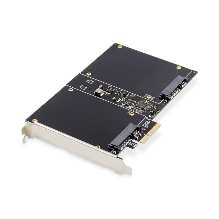 DIGITUS SCHEDA ADD-ON SATA III RAID PCI EXPRESS 2.5' HDD / SSD, 2 PORTE