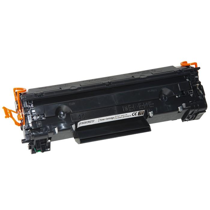 CARTUCCIA TONER COMPATIBILE LASERJET HP M201DW, M201N, MFPM225DN, CANON CF283X/CRG737