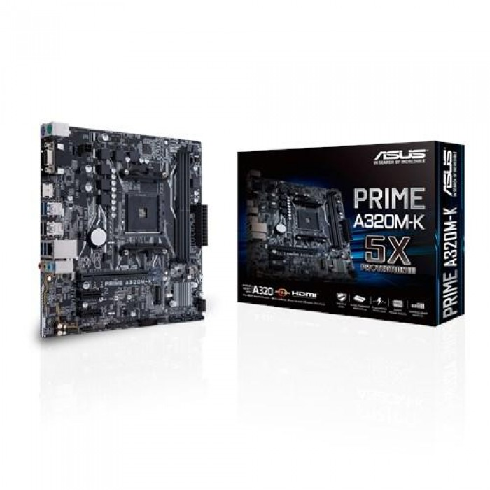 ASUS COMPONENTS 90MB0TV0-M0EAY0 ASUS MB PRIME A320M-K