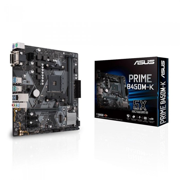 ASUS COMPONENTS 90MB0YP0-M0EAY0 ASUS SCHEDA MADRE mATX PRIME B450M-K