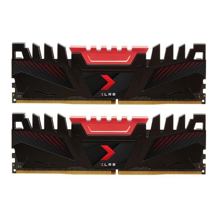 NVIDIA BY PNY MD16GK2D4320016AXR 16GB PNY XLR8 DIMM DDR4 3200 MHZ (2X8GB)
