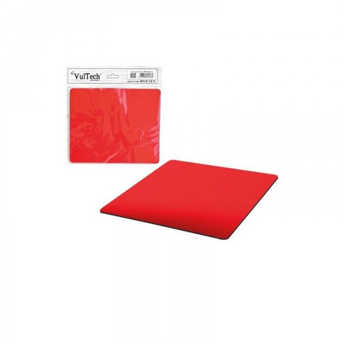 VULTECH MP-01R MOUSE PAD TAPPETINO PER MOUSE MP-01R ROSSO